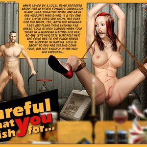 Porn Comics - Careful What You Wish For Sex Comic