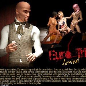 Porn Comics - Eurotrip – Issue 1 – Arrival Sex Comic