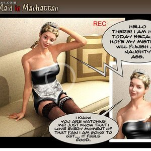 Porn Comics - Sex-Maid in Manhattan Sex Comic