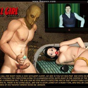 Porn Comics - The Call Girl Sex Comic