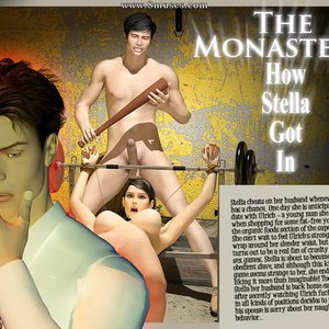 Porn Comics - The Monastery – Issue 1 – How Stella Got In Sex Comic