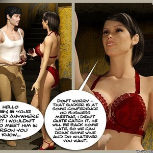 The Monastery – Issue 1 – How Stella Got In Sex Comic sex 002