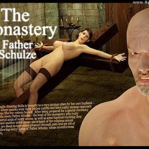 Porn Comics - The Monastery – Issue 3 – Father Shulze Sex Comic