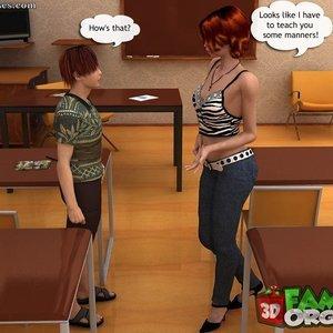 Small lesson Sex Comic sex 006