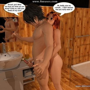 She snatched him from mommy Sex Comic sex 004