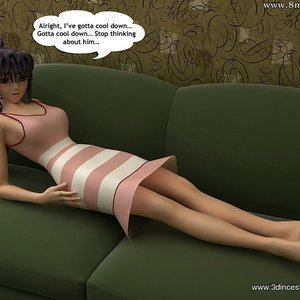 Sweet brunette mom got used as a fuck doll by her sonny Sex Comic sex 003