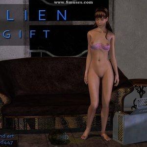 Porn Comics - Alien Gift Sex Comic