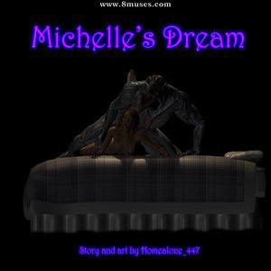 Porn Comics - Michelles Dream Sex Comic