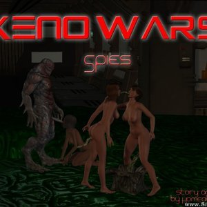 Porn Comics - Xeno Wars – Spies Sex Comic