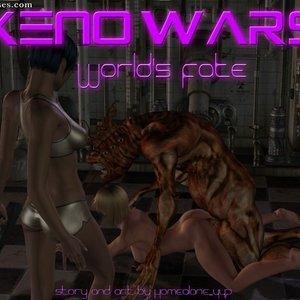 Porn Comics - Xeno Wars – Worlds Fate Sex Comic