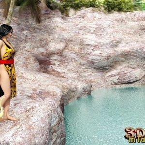 Porn Comics - 3D Sex In Fairyland – 04 – Snake Lake Sex Comic
