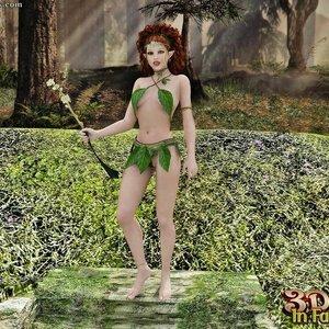 Porn Comics - 3D Sex In Fairyland – 05 – Elf Sex Comic