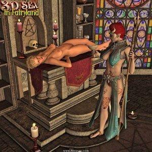 Porn Comics - 3D Sex In Fairyland – 09 – Altar Sacrifice Sex Comic