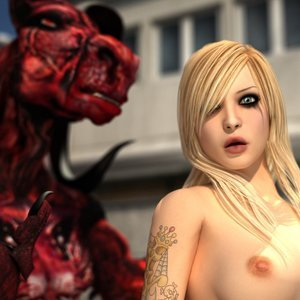 Porn Comics - Monster Fucking Cute Girls – The Red Dragon Sex Comic