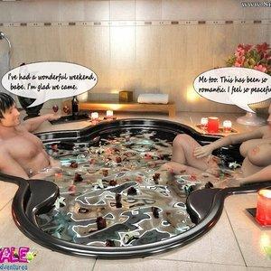 Porn Comics - Shemale Sexual Adventures – Jacuzzi Threesome Sex Comic