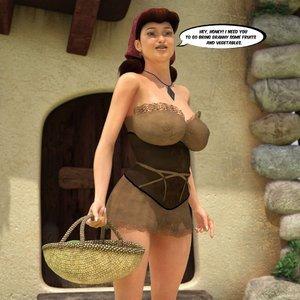 Porn Comics - Taboo 3D Movies – Red Riding Hood Sex Comic