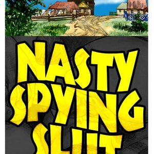 Porn Comics - Nasty Spying Slut Sex Comic