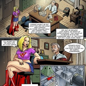 Porn Comics - Wonderbabe vs Frankenmonster Sex Comic