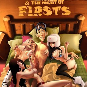 Porn Comics - A Blizzard  Night of Firsts Jab Comic