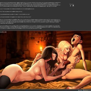 A Blizzard  Night of Firsts Porn Comic 024
