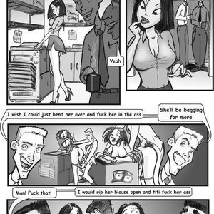 Porn Comics - Blowback free jab comic