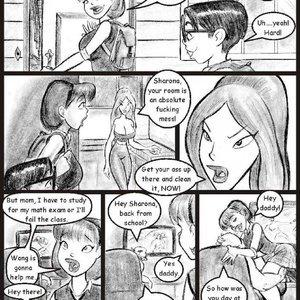 My Hot Ass Neighbor Chapter 02 Porn Comic sex 002