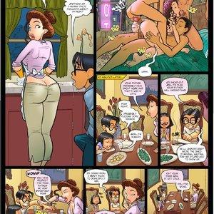 My Hot Ass Neighbor Chapter 05 JabComix sex 015