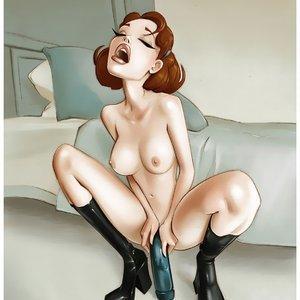 My Hot Ass Neighbor Pinups Sex Comic sex 007