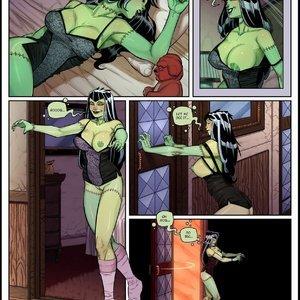 Jabcomix- The Creepies 1 Porn Comics sex 007