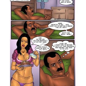 Savita Bhabhi 40 – Another honeymoon Sex Comic