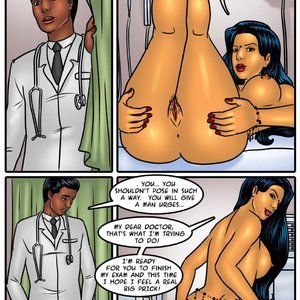Savita Bhabhi 46 – Savita plays Doctor Sex Comic