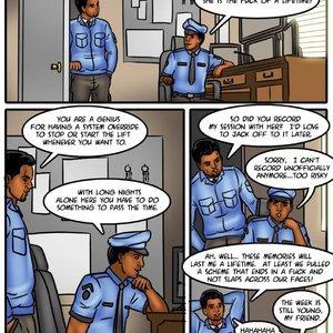 Savita Bhabhi 48 – Stuck in an elevator with a sexy Bhabhi Sex Comic
