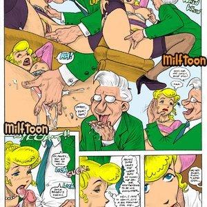 Blondie Porn Comic 003