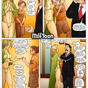 Dumb Blond - Color Porn Comic 003