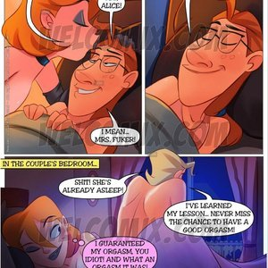 Familia Sacana 29 – ( Good Night Kiss – Part 2 ) Sex Comic