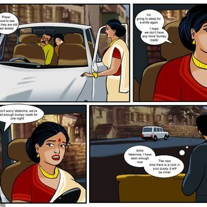 Velamma 13 – ( In The Middle Of A Journey ... ) Sex Comic