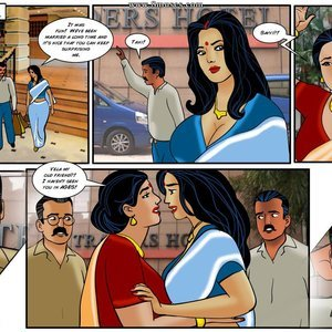 Velamma 36 – ( Savita Bhabhi and Velamma In Same Comic ) free Porn Comic