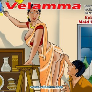 Porn Comics - Velamma 51 – ( Maid In India ) free Porn Comic