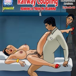 Porn Comics - Velamma 68 – ( Running A Train On Velamma ) free Porn Comic