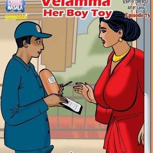 Porn Comics - Velamma 73 – ( Her Boy Toy ) free Velamma Comic