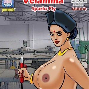 Porn Comics - Velamma 85 – ( Sparks Fly ) Sex Comic
