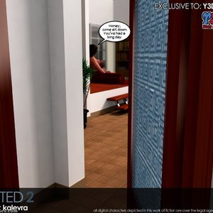 Busted 2 Porn Comic 001