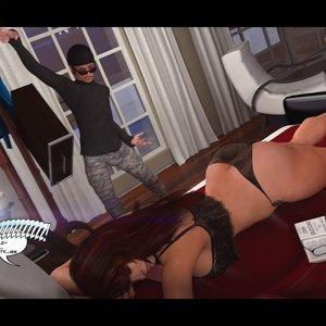 Heavy Sleeper Thief - Issue 1 Porn Comic 026