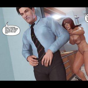 Heavy Sleeper Thief - Issue 2 Porn Comic 046