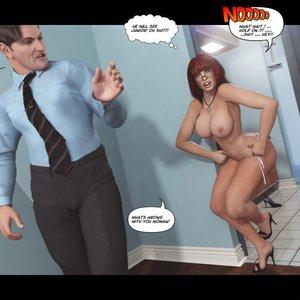 Heavy Sleeper Thief - Issue 2 Porn Comic 047