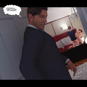 Heavy Sleeper Thief - Issue 2 Porn Comic 111