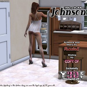 Porn Comics - Meet the Johnsons Chapter 02 free y3df Porn