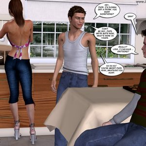 Meet the Johnsons 3 Porn Comic 050