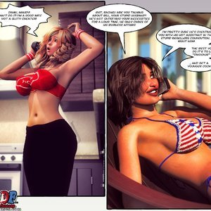 Passion - Issue 1 Porn Comic 029