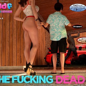 Porn Comics - The Fucking Dead – Issue 3 free y3df Porn